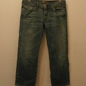 7 for all mankind US Size 30 Crop Bootcut Light
